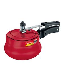 Because we all work best under pressure!  Prestige 3 Ltrs Nakshatra Plus Red Pressure Handi, http://www.snapdeal.com/product/prestige-nakshatra-plus-3-ltr/639790
