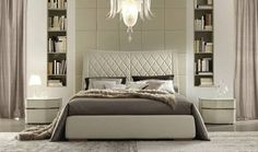 custom built bed heads and side tables - Google Search