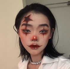 Edgy Makeup, Sfx Makeup, Makeup Art, Beauty Makeup, Hair Makeup, Anime Makeup, Cosplay Makeup, Cool Makeup Looks, Creative Makeup Looks
