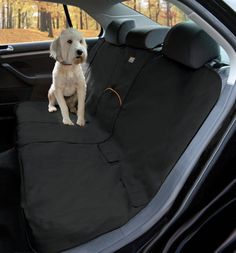 NEW Pet Rear Back Seat Cover, Waterproof Dog Car Protector SUV Bench Mat, Black -- Check out the image by visiting the link.