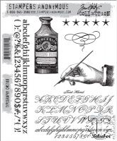 Bilde av produkt: Tim Holtz Collection - Typography - Stamps