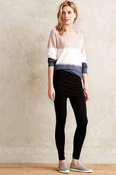 Ruched Skirt Leggings - anthropologie.com
