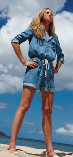 long sleeve chambray romper  http://rstyle.me/n/nm2nwpdpe