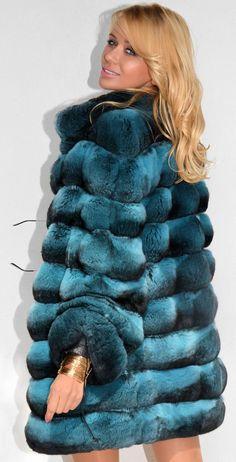 Chinchilla Italian FUR Coat WIE Zobel Sable Mink Nerz Nerzmantel Zobelmantel | eBay