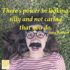 Looking silly quote