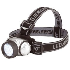 LED HEAD LAMP LIGHT TORCH CAMPING FLASHLIGHT GHOST HUNTING EQUIPMENT ADVENTURES