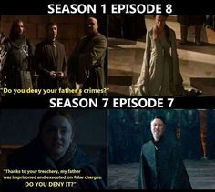 Parallels Game of Thrones.