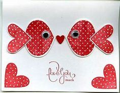 Punch Art Valentine by scgustaf - Cards and Paper Crafts ...