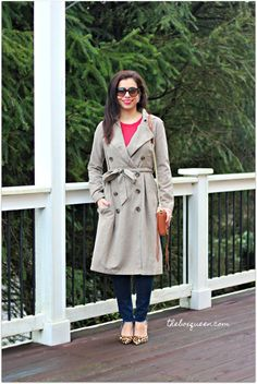 Jack by BB Dakota Lexia Trench Coat & Velvet by Graham & Spencer Cashmere Sweater | DailyLook Elite Reviews | Spring Style | Classic Style | Spring Fashion | Online Style Subscription | Personal Stylist