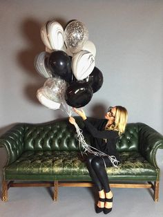 Giant Balloon Bouquet  Confetti Balloons  by LolasConfettiShop