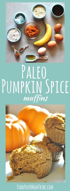 Just made these paleo pumpkin spice muffins yesterday - easy and delicious paleo dessert. Tastes WAY better than typical paleo desserts. You won't even know the difference! Fall Recipes, Whole Food Recipes, Pumpkin Recipes, Whole 30 Snacks, Pumpkin Spice Muffins, Gluten Free Muffins, Paleo Dessert, Paleo Sweets, Convenience Food
