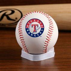 Texas Rangers ''The Original'' Team Logo Collectible Baseball