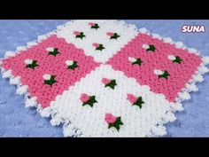 Teachers Pet, Colorful Roses, Crochet Baby Clothes, Crochet Tablecloth, Baby Knitting Patterns, Make It Yourself, Blanket, Youtube, Fiber