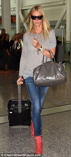 Mum on the run: Gwyneth dressed down at the airport, and on red carpet duties for Toronto Film Festival