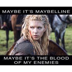 Lagertha in Vikings History Channel, Lauren Gardner, Vikings Tv Show, Shield Maiden, Viking Warrior, Viking Life, Warrior Women, Viking Art, Viking Woman