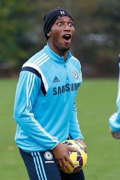 Drogba - the Happy One??