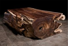 contemporary coffee table in reclaimed wood ROSEWOOD TRUNK Hudson Furniture