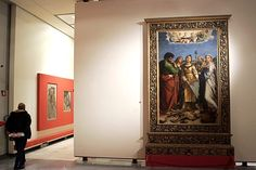 The Pinacoteca Nazionale in Bologna, largely dedicated to Bolognese painters, also houses Raphael's St. Cecilia in Ecstasy.