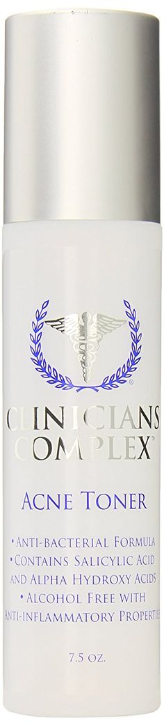 Clinicians Complex Acne Toner, 7.5 Ounce ** This is an Amazon Affiliate link. Read more at the image link.