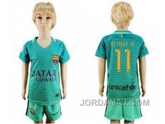 http://www.jordanaj.com/barcelona-11-neymar-jr-sec-away-kid-soccer-club-jersey.html BARCELONA #11 NEYMAR JR SEC AWAY KID SOCCER CLUB JERSEY Only $20.00 , Free Shipping!