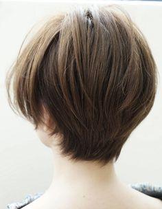 バックシルエットが綺麗な髪型(HR-185) | ヘアカタログ・髪型・ヘアスタイル|AFLOAT(アフロート)表参道・銀座・名古屋の美容室・美容院