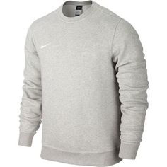 Nike - Sweatshirt Team Club Crew Grå Børn