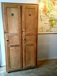 Little Paris Store : Products | Wooden locker. LOVE