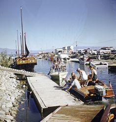 Salton Sea, California - 1962 by Brad Smith, via Flickr