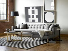 How To Create an Art Gallery Wall : Decorating : Home & Garden Television by Jeanine Hays.  Image from @DwellStudio.