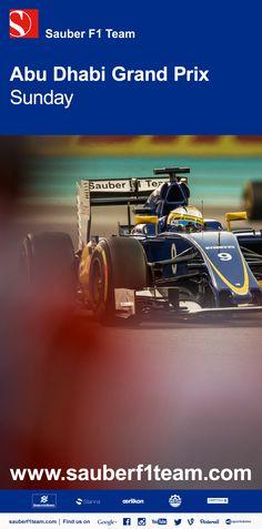 5ab02387b96e Read our  AbuDhabiGP race report on sauberf1team.com en  -  F1   SauberF1Team  JoinOurPassion  Racing  Formula1  FormulaOne  motorsport