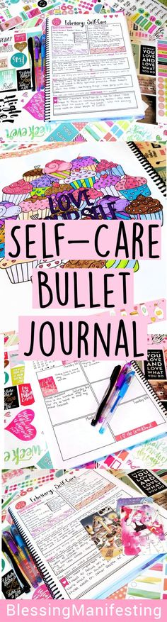 self-care bullet journaling Inside my self-love workbook for February and how it's helping me cope through some difficult times. #bujo #bulletjournaling #selfcare