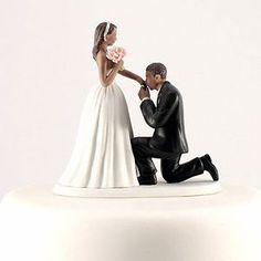Cinderella-Moment-Fairytale-Couple-Wedding-Cake-Topper-African-American-Hispanic