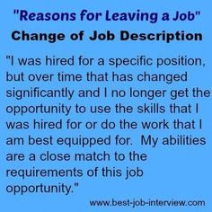 Valid reasons for leaving a job. How to explain why you want to leave your job. Best interview answers to the reason for leaving interview question. Interview Answers, Interview Skills, Job Interview Questions, Job Interview Tips, Job Interviews, Interview Techniques, Interview Preparation, Job Resume, Resume Tips