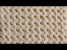 YouTube Knitting Stiches, Knitting Videos, Knitting Charts, Crochet Videos, Lace Knitting, Crochet Stitches, Knitting Patterns, Knit Crochet, Crochet Patterns