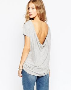 ASOS COLLECTION ASOS T-shirt with Scoop Back
