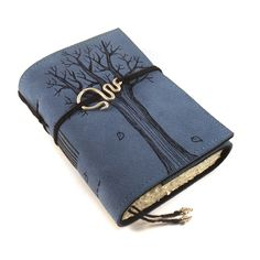 Leather journal, Notebook: Winter Tree. $49.00, via Etsy.