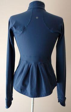 Lululemon pleated yoga jacket