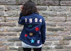 Look do dia - moda, casual, street style, jaqueta, patches, jeans, DIY