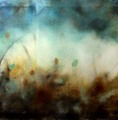 "Saatchi Online Artist: Heather Howell; Paint, 2012, Mixed Media ""Hopeful Tuesday"""
