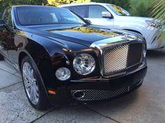 Satin blue Bentley Mulsanne looks good! Gumball3000 exotic car rally ...