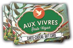 Aux Vivres, vegan restaurant 4631 Boul. St-Laurent  Montréal, QC Canada  H2T 1R2  514 842-3479  info@auxvivres.com