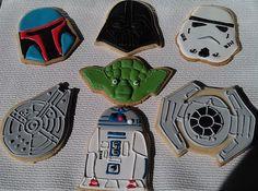 Star Wars  Cookies by PetesCustomCookies on Etsy https://www.etsy.com/listing/261351072/star-wars-cookies