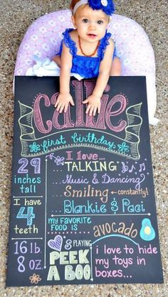 love to do this for our little guys First Birthday.. so neat and different.