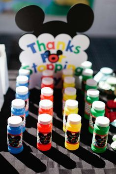 Mickey Mouse Birthday Party Ideas | Photo 10 of 79 | Catch My Party