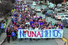 Piedra del Aguila.-: San Martín de los Andes: Pidieron fin de la violen...