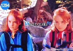 parent trap.. Great movie. Got the whole oreo's and peanut butter from this movie, <3