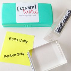 Stop Sewing/Ironing Name Labels & Get Stamping with Stamptastic! Are you a parent who spends forever labelling all your kids school clothes, outerwear, PE kit, books, bags, stationery… yawn… the never ending list goes on…! Well, throw away those pesky iron in labels, put away those time consuming sew in labels and pop away that stinky marker pen. Save yourself a whole load of effort and precious time and get stamping instead with Stamptastic! The very lovely Fran from ...