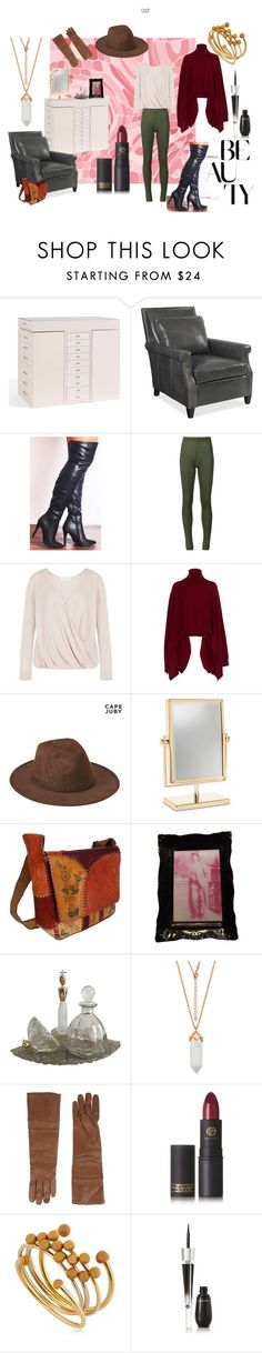 """""""In the closet #2"""" by bwoodcreations ❤ liked on Polyvore featuring Pottery Barn, Thos. Baker, MARIOS, Rosetta Getty, Aéropostale, P.A.R.O.S.H., Lipstick Queen, Isabel Marant and Lancôme"""