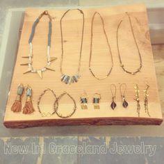 Beautiful new jewelry in the shop by Grace Sheahan! Web Instagram User » Followgram