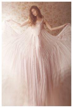 beautiful gentle dress via Vivienne Mok